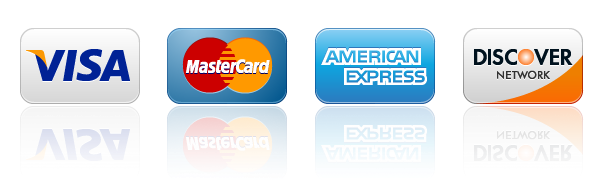 pay with major credit cards